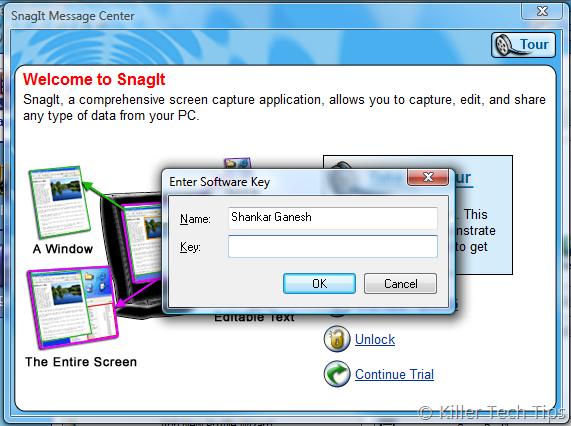 Free SnagIt Key