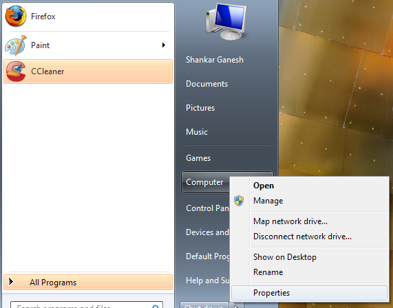 Remote Desktop Windows 7