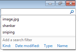 Clear Windows 7 Explorer Search History