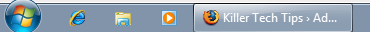 Small Windows 7 Taskbar
