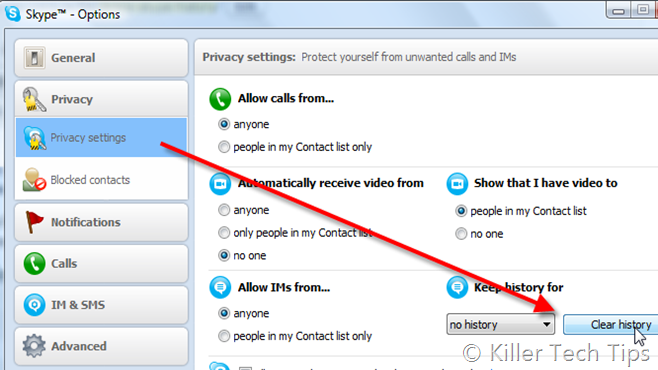 delete-skype-history