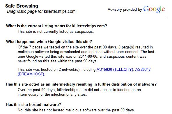 google-malware-check