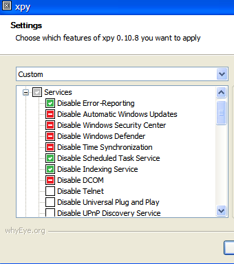 Secure Windows by disabling unsafe Windows settings